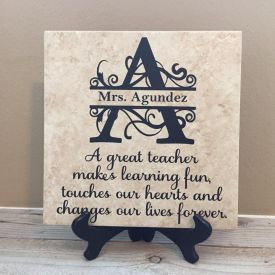 Personalized Ceramic Tile