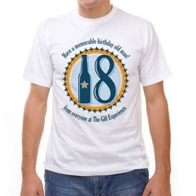 18th birthday personalized t-shirt