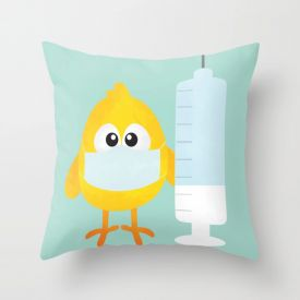 Doctor Day Cushion