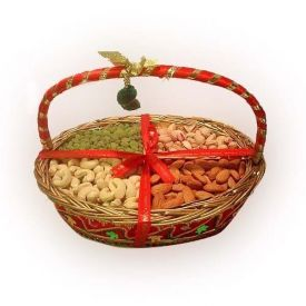 Mixed Dry Fruits With Basket