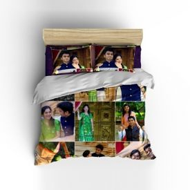 wedding personalized bedsheet