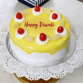 Diwali Pineapple cake