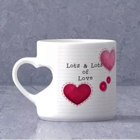 Personalized Heart Mug