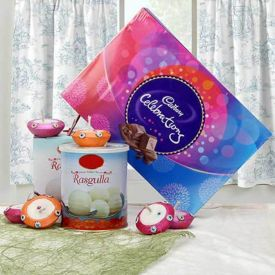 Rasgulla With Celebration Pack