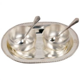 Tray with spoon and Bowl