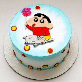 Shinchan Cartoon Cake