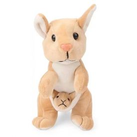 Kangaroo With Baby Soft Toy