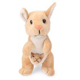 Kangaroo With Baby Soft Toy