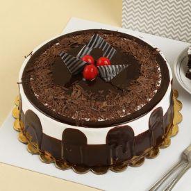 Eggless Blackforest Cake