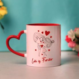 Love is Forever Valentine's day Mug
