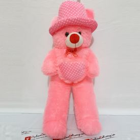 Pinky Teddy bear