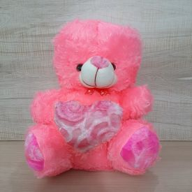 Pinky Heart Teddy Bear