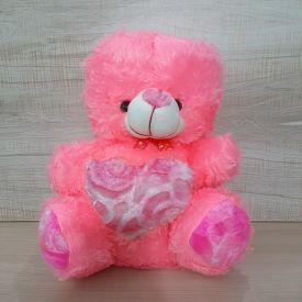 Pinky Heart Teddy Bear
