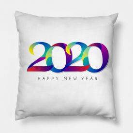 Happy new year 2020 cushion