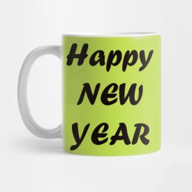 Happy New Year's Mug
