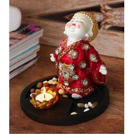 Buddha Monk Idol Statue