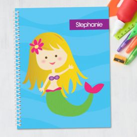 Mermaid Kids Notebook