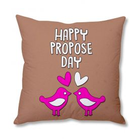 Happy Propose day cushion