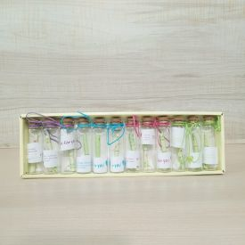 Messages bottle set