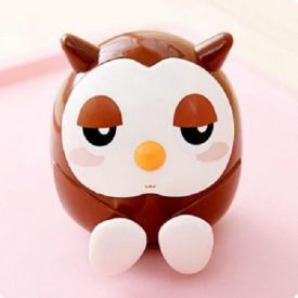 OWL COIN BANK AND PHONE STAND