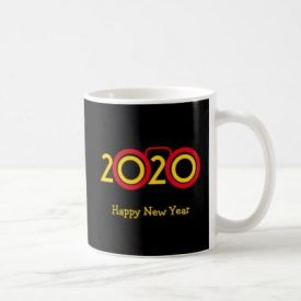 New Year 2020 Printed Mug