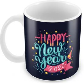 Printed Happy New Year 2020 Mug