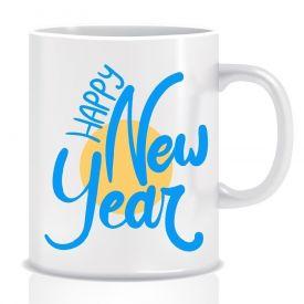 New Year's mug