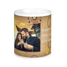 Golden Print Mug