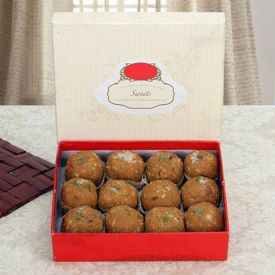 Box of Besan Laddu