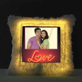 LED Personalized Love Cushion