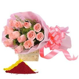 Roses with Gulal
