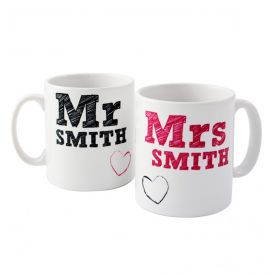 Mr Mrs mug-Valentine's day mug