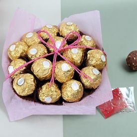 Basket of Ferrero Rocher