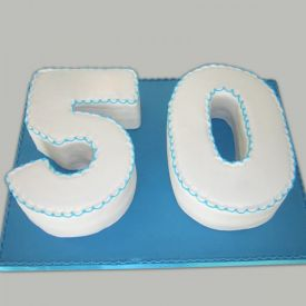 Fifty Number Cake