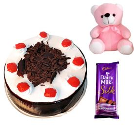 Black Forest Cake, Teddy and silk