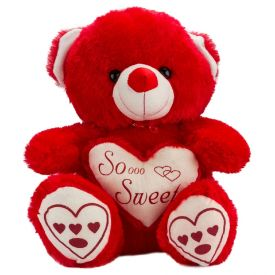 30 Inch Red Teddy Bear