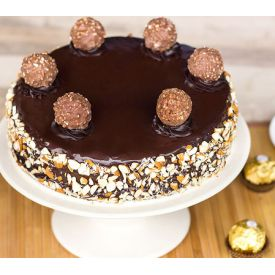 Ferrero Rocher Walnut cake
