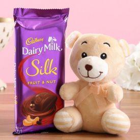 Single Silk With Small Teddy