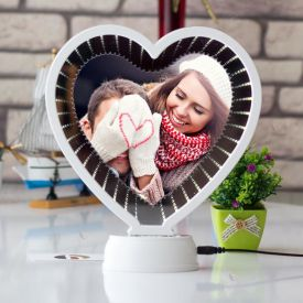 Heart Shape Magic Mirror