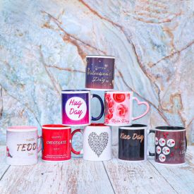 Valentine's Day week Mug Set