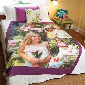 Personalized Bed Sheet Printed
