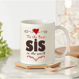 SIS White Mug