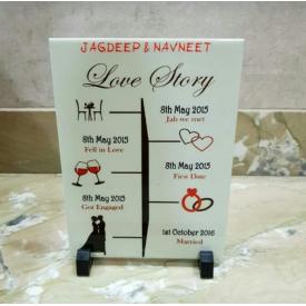 Customized Love Timeline Story