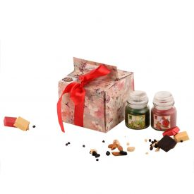 Diwali Candle or Chocolate Combo