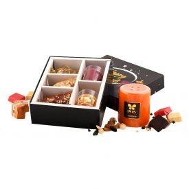 Dry Fruits With Diya Combo Box