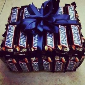 Snickers box Arrangment