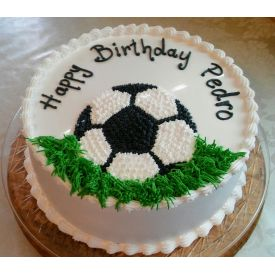 The Soccer Sensation Cake