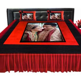 Personalized Wedding Bed Sheet