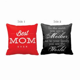 Double Side Best Mom Cushion