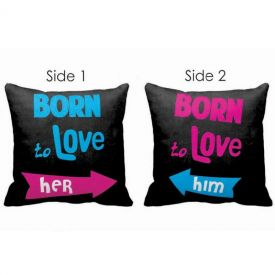 Double Side Cushion Born Love